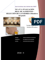 Informe 1- Evaluación Sensorial de Alimentos