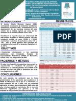 POSTER DELINEACION CLINICA Y MOLECULAR DE ATROFIA MUSCULAR ESPINAL EN PACIENTES PEDIÁTRICOS DEL  FUNDACIÓN HOSPITAL DE ESPECIALIDADES PEDIÁTRICAS DE MARACAIBO.pptx