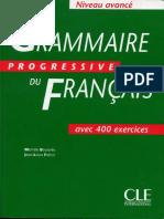 Grammaire Progressive Du Français - Avancé