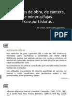 Maq Min 2018 10 Camiones Mineros - Fajas