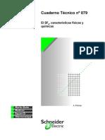 CT-079 El SF6, Características Físicas y Químicas