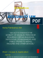 Accessibility Law