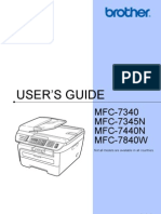 Brother MFC 7840W Hardware Users Guide