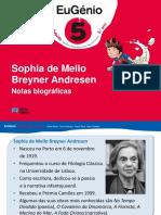 Eug5 Ppt Biografia Sophia m b Andresen