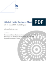 Horasis Global India Business Meeting 2010 - Programme Brochure