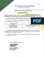 2018 10 Agosto Giunta 105 Assente Caltanisetta Misure Correttive Delibera Corte Dei Conti 90 2018 Prsp