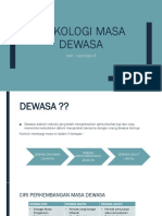 KLP 6 Psikologi Masa Dewasa