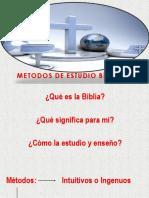 Introducción Estudiio Bíblico Clase 1