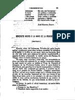 23 Benedicto Nieves o La Mano de La Providencia