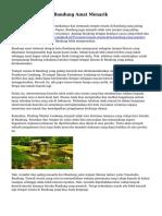 Teritori Wisata Di Bandung Amat Menarik