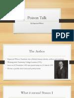 Poison Talk F3