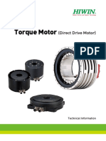 Torque Motor Rotary Tables