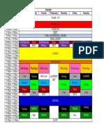 Monica's Life Schedule (Pagwalang Magawa) Yr2017-2018