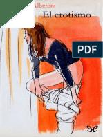 Alberoni Francesco - El Erotismo