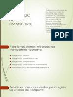 Sistema Integrado de Tramsporte en Medellin