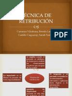 TÉCNICA DE RETRIBUCIÓN.pptx