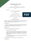 Estatuto de Servicio Civil(Ley No 1581)