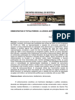 DEMOCRATAS E TOTALITÁRIOS
