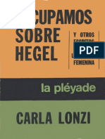 Lonzi, Carla. Escupamos sobre Hegel y otros escritos sobre liberación femenina. La Pléyade. Buenos Aires.pdf