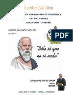 Socrates y El Bien
