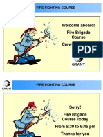 fire fighting course