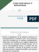 1. Derecho Notarial