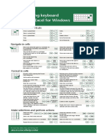 50 Time-saving Keyboard Shortcuts in Excel for Windows - V2