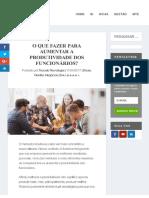 Toccato - Como Aumentar Produtividade Dos Funcionários