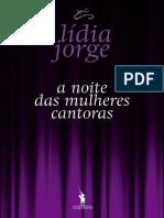 A Noite das Mulheres Cantoras - Lídia Jorge.pdf
