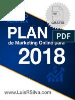 Plan de Marketing Online de una Empresa Ejemplo Plantilla 2018