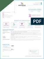10629 - Cotizacion 1 Millar Tarjetas Mate - Diseño Logotipo - Joregoga Sac - Andy Gonzales