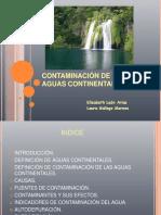 Contam i Nacion Del Agua
