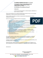 Carta de Presentacion Contadores