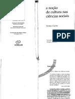 CUCHE, Denys. A noção de Cultura -intro-cap1 e 2.pdf