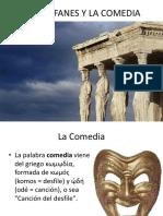 Aristófanes y La Comedia