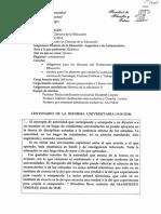 2018 Historia de La Educacion Argentina y de Latinoamerica