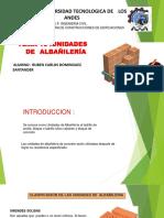 Unidades de Albañileria (1)