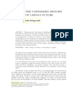 Fitzgerald-Unfinished History of China's Future