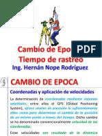 Geomatica - Capitulo 1 - 06 Cambio de Epoca y Tiempo de Medicion