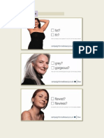 Analysis of Dove's Campaign for Real Beauty Advertisements