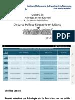 Presentacion Discurso Politico Educativo