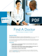 BCBS of Michigan Find a Provider Directory