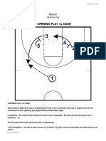 Mike Brey Notre Dame Motion Offense 1