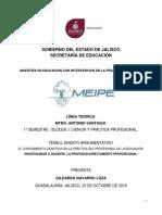 El Conocimiento Científico en La Práctica Del Profesional de La Educación_gil Navarro