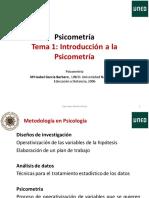 Psicometria Tema 1 Introduccion-1