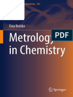 Metrology In Chemistry - Ewa Burska