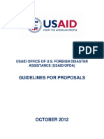 Guidelines for Proposals 2012