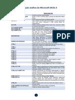 Atalhos Excel 3