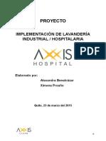 Implementación de Lavandería Industrial Axxis Hospital
