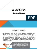 Estadistica - Generalidades